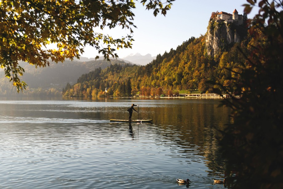 Lake Bled rowing